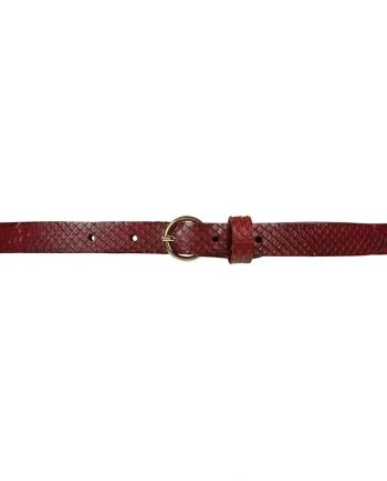 Foto af Depeche Narrow Belt Bordeaux
