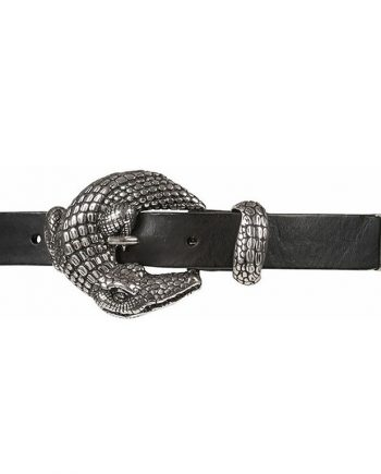 Foto af Depeche Narrow Belt Silver Croco