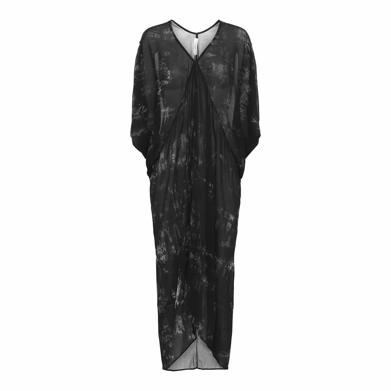 Combo Asymmetric Dress Her Rabens Køb Black Saloner Wave XAqnxZw47