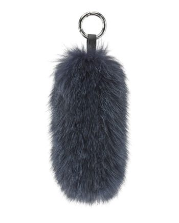 Foto af Cosy Concept Fur Tail Fox Keyring Navy