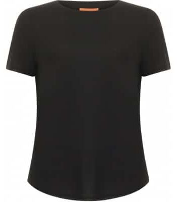 Foto af Coster Copenhagen T-shirt W. Short Sleeve Black