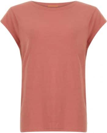 Foto af Coster Copenhagen Basic Tee Canyon Rose