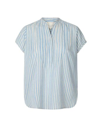 Foto af Lollys Laundry Heather Shirt Light Blue