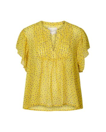 Foto af Lollys Laundry Isabel Top Yellow