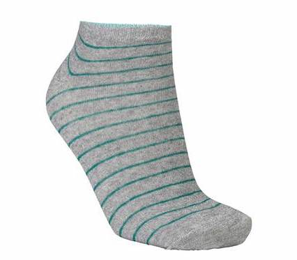 Foto af BeckSöndergaard Dollie Stripe Sock Green
