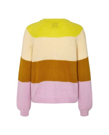 Foto af Lollys Laundry Nova Cardigan Neon Yellow