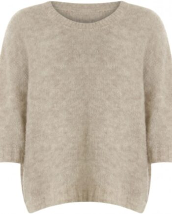 Foto af Coster Copenhagen Short Sleeves Sweater Camel