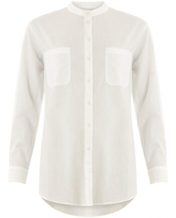 Foto af Coster Copenhagen Shirt W. A Chest Pocket White