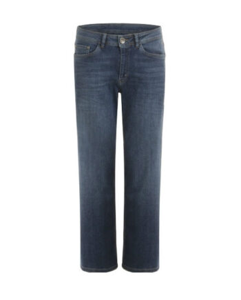 Foto af Coster Copenhagen Relaxed Jeans W. Wide Legs And Diagonal Dart Blue Indigo