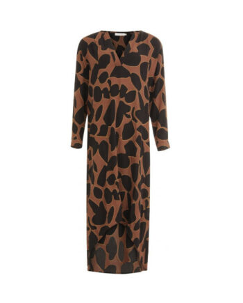 Foto af Coster Copenhagen Dress W. Long Sleeves In Lava Print Lava Print