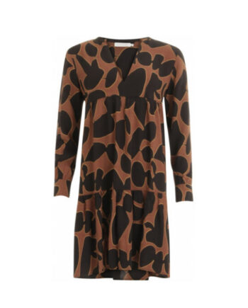 Foto af Coster Copenhagen Dress In Lava Print W. Volume Effect At Body Lava Print