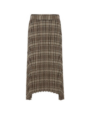 Foto af Norr Iris Skirt Brown Check