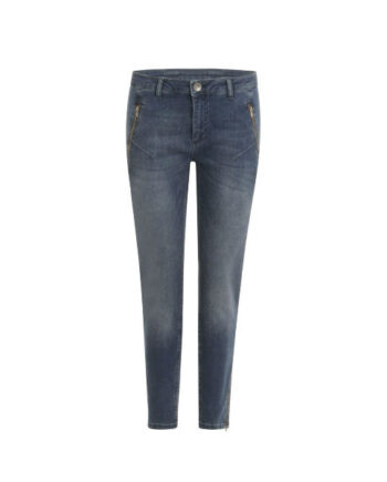Foto af Coster Copenhagen Relaxed Jeans In 7/8 Lenght Indigo Blue