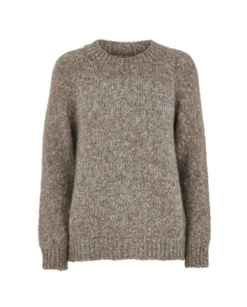 Foto a BasicApparel Aliki Sweater Warm Grey Melange