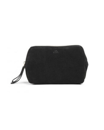 Foto af Markberg Aloma Make-up Purse M Suede Black