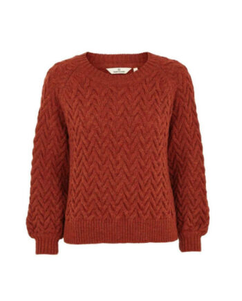 Foto af BasicApparel Emma Sweater Red Rust