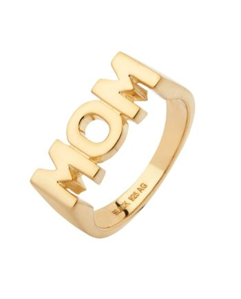 Foto af Maria Black Mom Ring Gold