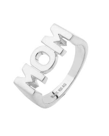 Foto af Maria Black Mom Ring Silver