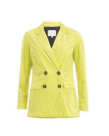 Foto af Coster Copenhagen Suit Jacket W. Button Closure Neon Yellow