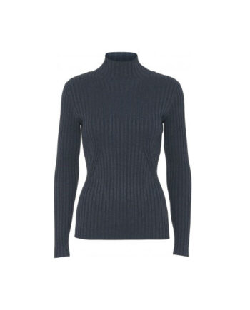 Foto af Norr Karlina Knit Top Blue Melange