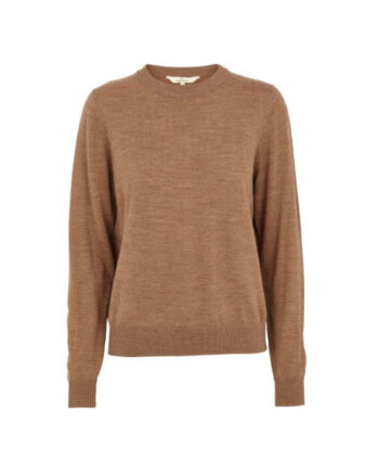 Foto af BasicApparel Vera Sweater Warm Sand