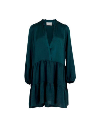 Foto af Neo Noir Federica Soft Dress Deep Green