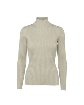 Foto af Norr Karlina Knit Top Light Beige