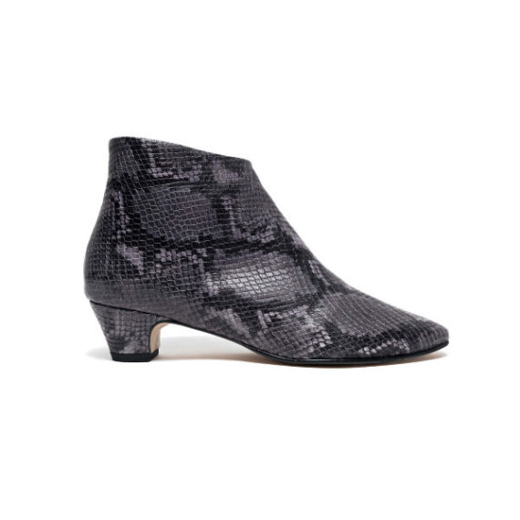Foto af Anonymous Copenhagen Kyra Snake Calf Dark Grey