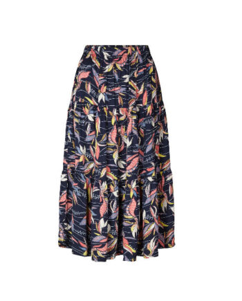 Foto af Lollys Laundry Morning Skirt Dark Blue
