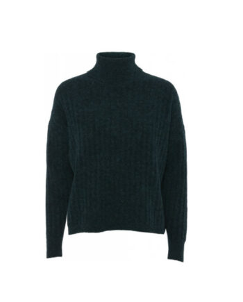 Foto af Norr Taya Knit Top Dark Green