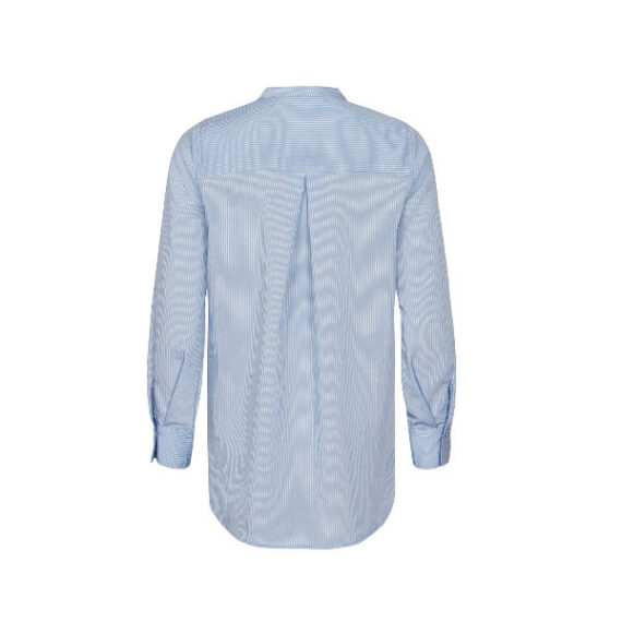 Foto af And Less Alace Blouse Colony Blue