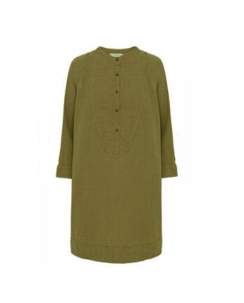 Foto af Rabens Saloner Fadia Double Cotton OS Dress Capers