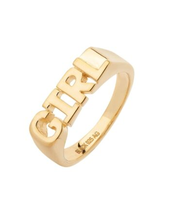 Foto af Maria Black Girl Ring Gold