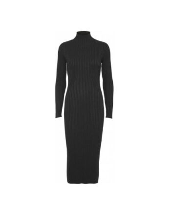 Foto af Norr Karlina Knit Dress Dark Grey Melange