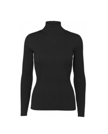 Foto af Norr Karlina Knit Top Black