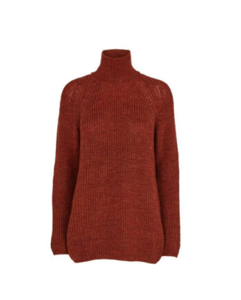 Foto af BasicApparel Pela Sweater Red Rust