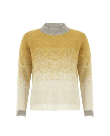 Foto af Coster Copenhagen Knit W. Fading Color Panels Faded Yellow