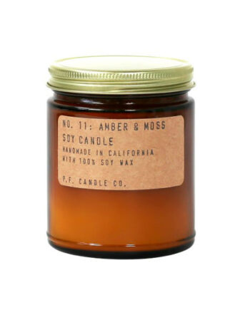 Foto af P.F. Candle Co. Duftlys Amber & Moss Large