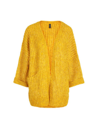 Foto af YAS Sunday Knit Cardigan Golden Yellow