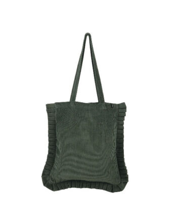 Foto af Black Colour Gabby Shopper Misty Olive Corduroy