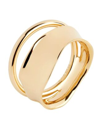 Foto af Maria Black Midnight Ring Gold
