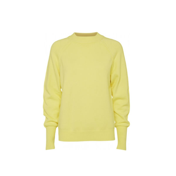 Foto af Norr Lindsay Knit Top Light Yellow