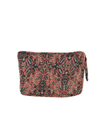 Foto af Black Colour Luna Cosmetic Bag Red Imani