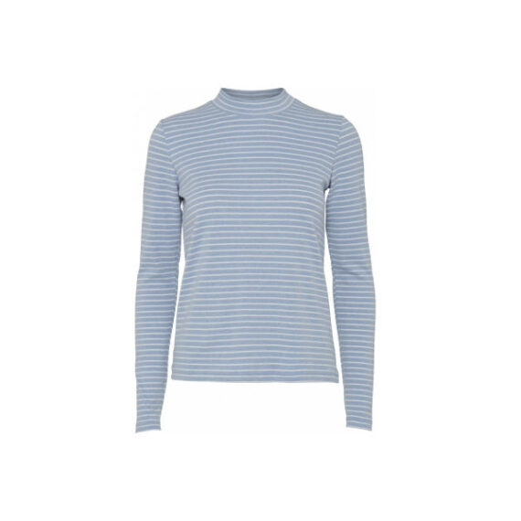 Foto af Norr Rita LS Top Light Blue Stripe