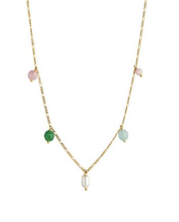 Foto af Stine A Candy Floss Necklaces Gemstones And Pearl Gold