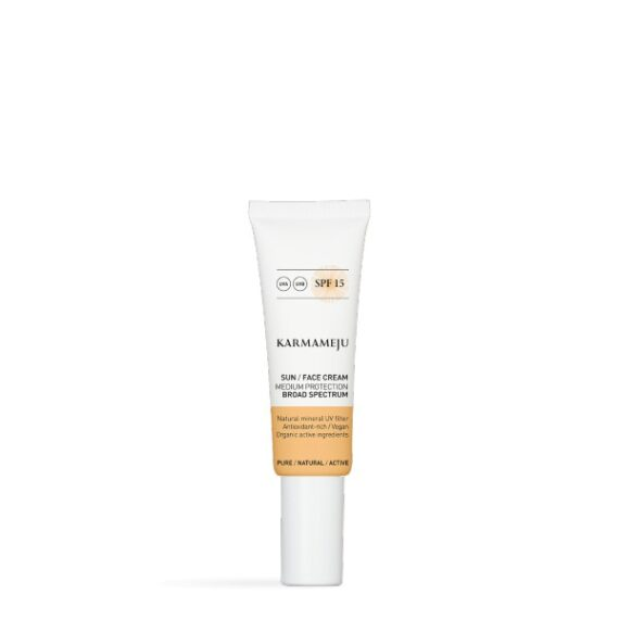 Foto af Karmameju Sun Face Cream SPF 15, 50 ml.