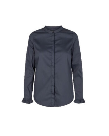 Foto af Mos Mosh Mattie Sustainable Shirt Night Blue