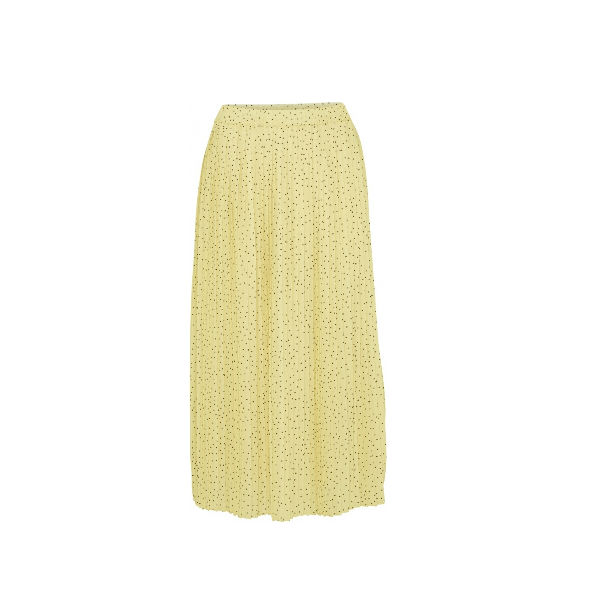 Foto af Norr Amba Skirt Light Yellow Dot