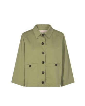 foto af Mos Mosh Phoenix Cole Jacket Oil Green