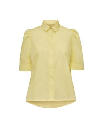 foto af Norr Billie Shirt Light Yellow